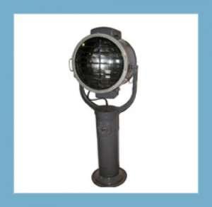 Прожектор судовой МСПЛ- 45/2-М, с ручным управлением